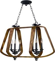 lighting mesmerizing wood and iron chandelier 16 maxim 20927bwio road house barn ore light 5 wood
