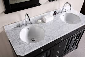 White Double Bathroom Vanities Bathroom Vanity Countertop Thickness Bathroom Modern Dark Wood