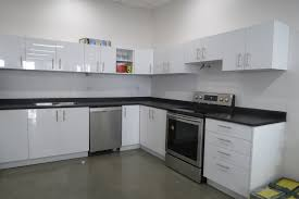 office kitchens. Office-Kitchen-High-Gloss-White Office Kitchens
