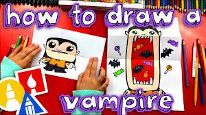 How To Draw A <b>Big</b> Mouth Vampire (<b>Folding</b> Surprise) - YouTube