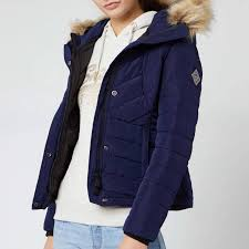 Superdry Uk Size Chart Women S Superdry Womens Icelandic Jacket Rich Navy