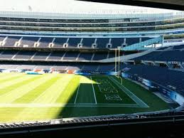Chicago Bears Soldier Field Seating Chart Soldier Field Section 232 Row 5 Seat 9 Home Of Chicago Bears