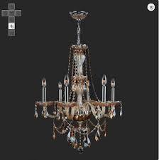 worldwide lighting w83096c23 cl provence 6 light chrome crystal chandelier