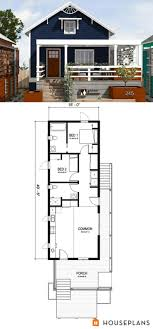 Modern One Bedroom House Plans 17 Best Ideas About One Bedroom House Plans On Pinterest Guest