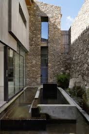 modern home architecture stone. View In Gallery Spanish-stable-turned-contemporary-stone Home-8.jpg Modern Home Architecture Stone