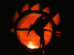 Hunting Pumpkin Carving Pattern Simple Inspiration