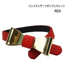 import fake reza ribbon bracelet 6 colors 14bls 001 277 aw14z las