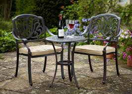 cast iron bistro patio furniture beautiful cement breathtaking outdoor bistro table sets uk outdoor pub table