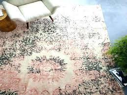 distressed wool rug ornament rosette bedroom for arabesque d