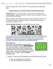 Natural selection questions and answers key articles. Natural And Artificial Selection Gizmo Answer Key Pdf Titration Gizmo Answer Key Fill Online Printable Fillable Blank Pdffiller Gizmo Answer Key File Pdf Size