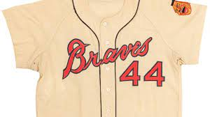1965 Milwaukee Braves jersey sells ...