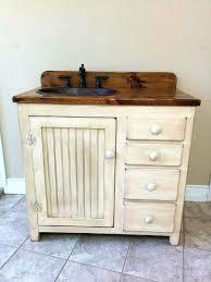 rustic pine bathroom vanities. Diy Rustic Bathroom Vanity Cabinet Country Pine With Hammered Copper Sink Inch Wide . Vanities