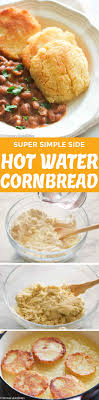One of the reasons we love this vegan cornbread is because it goes with just about everything! Hot Water Cornbread Immaculate Bites