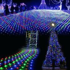 ceiling fairy lights led tree mesh curtain decorate ceiling fairy lights house window wall fish net