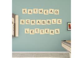 scrabble letters collection giant officially licensed hasbro removable wall decals fathead wall decal