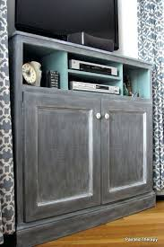 tall corner tv cabinet white build a tall corner media console free and easy project and