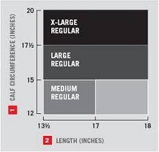 Futuro Anti Embolism Knee Length Stockings Helps Prevent Leg Discomfort Moderate Compression Closed Toe Large Regular White