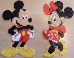 Perler Beads Mickey Mouse Designs Mickey Mouse Found On The Internet Vivi Elsborg Flickr