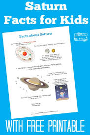 best planet project ideas d solar system d  fun saturn facts for kids