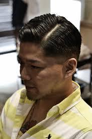 バーバー風メンズスタイル日本人が似合う髪型作り方セット方法