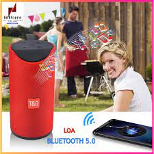 Loa Bluetooth 5.0 âm thanh cực chất bass to rõ ràng,Có Led RGB hỗ trợ usb  khe cắm thẻ nhớ đài FM giá bán 95.000₫