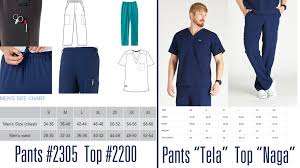 Figs Scrubs Size Chart Figs Vs Jockey My Scrubs Review For Dudes Mostly Nursing
