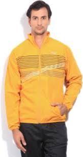 fila yellow jacket. fila full sleeve striped men\u0027s sports jacket yellow