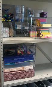 Office Organization By Scarlet5204 Office Supply Storage Ideas Pinterest