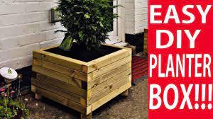 the easy way to build a diy planter box