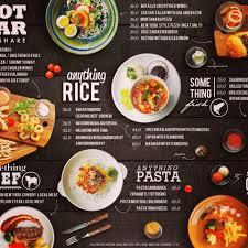 Food Menu Design Menu Design For Kirkos Bar Resto Surabaya East Java Indonesia