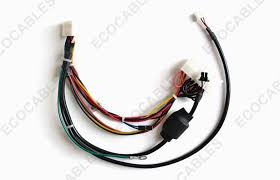 ferrite core cable industrial molex wire harness for laser printer
