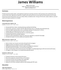 Outstanding Cashier Resume Templates Sample No Experience Sales