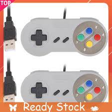 Set 2 Tay Cầm Điều Khiển Famicom Cho Máy Chơi Game Nintendo Snes