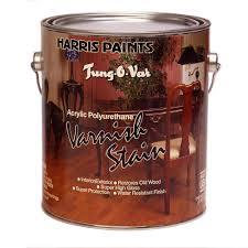 Harris Tung O Var 1 Gal Interior Walnut High Gloss Varnish