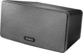 speakers like sonos. sonos - play:3 wireless speaker for streaming music black front_standard speakers like 1