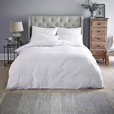 close image for sainsbury s home white plain bed linen from sainsbury s