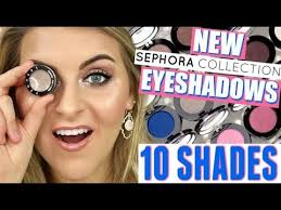 Testing NEW <b>Sephora</b> SINGLE SHADOWS // 10 SHADES! - YouTube