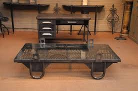 decoration industrial style coffee tables small table within decorating from diy vintage pallet