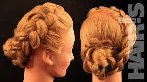Chingon Hair Style how to do a dutch braid with braided hair rose chignon hairstyle 4902 by wearticles.com