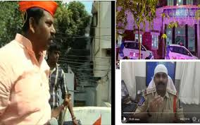 Bjp Mla Raja Singh Criticises Police For Wearing Skull Cap