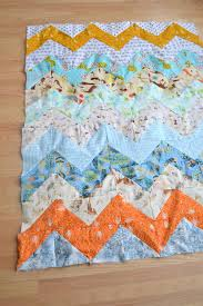 Chevron Quilt Pattern Impressive Chevron Quilt Pattern Quilt Patterns For Beginners Making