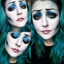 corpse bride makeup easy saubhaya makeup