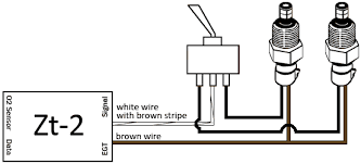 zeitronix installation single or multiple sensor installation connect the second wire from each temperature sensor to the outer connection points on the switch