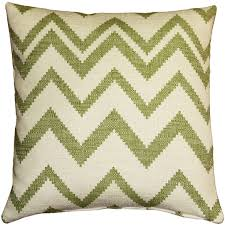olive green pillows. Lorenzo Zigzag Green 20x20 Throw Pillow Olive Pillows I