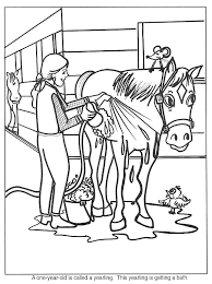 Kleurplaatpaard Thema Paarden Kleuters Horse Theme Preschool