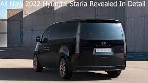 All New 2022 Hyundai Staria Revealed In Detail // Interior & Exterior //  7-, 9- and 11-seats - YouTube