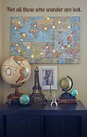 Small Picture Best 20 Travel themed rooms ideas on Pinterest Map themed room