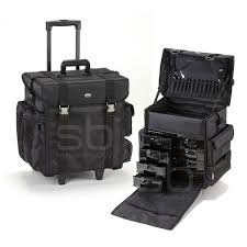 professional soft sided rolling makeup case w drawers professional soft sided rolling makeup case w drawers