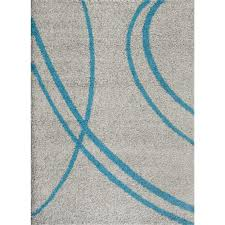 world rug gallery soft cozy contemporary stripe turquoise gray 8 ft x 10 ft