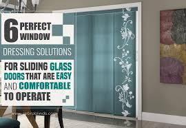 sliding glass door coverings options